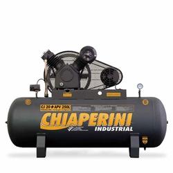 Compressor De Ar 20 Apv 250 Litros C/ Motor Trifásico 5Hp 69... - Santec