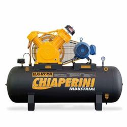 Compressor De Ar 25 Apv 250 Litros C/ Motor Trifásico 5Hp 69... - Santec