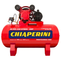 Compressor De Ar Red 10 Pcm 150 Litros Motor 2 Hp Monofásico... - Santec