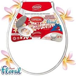 Assento Sanitário Perfumado Almofadado Branco 487 Durin - Santec