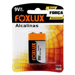 Bateria Alcalina 9V 95.08 Foxlux - Santec
