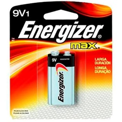 Bateria Alcalina 9V Energizer - Santec