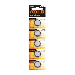 Bateria Moeda Alcalina 1,5V LR41 95.13 Foxlux - Santec