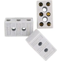 Conector Porcelana W303 10mm 3 Entradas Ref-3574342 - Santec