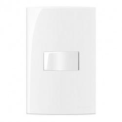 Conjunto 1 Interruptor Simples Linha Sleek Margirius - Santec
