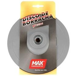 Disco De Borracha Flexível 7'' 14770 Max - Santec