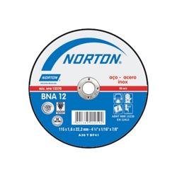 Disco De Corte 4.1/2'' X 1,0mm X 7/8'' Bna12 Norton - Santec