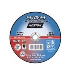 Disco De Corte 4.1/2 X 1,2mm X 7/8'' Bhp12 Norton - Santec