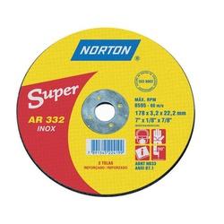 Disco De Corte 4.1/2 X 1/8 X 7/8'' Ar332 Norton - Santec