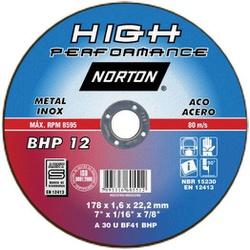 Disco De Corte 7 X 1,6 X 7/8'' Bhp12 Norton - Santec