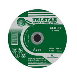 Disco De Corte 7 X 1/8 X 7/8'' Telstar - Santec