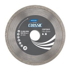 Disco De Corte Diamantado Contínuo Classic 110 X 20mm Norton... - Santec
