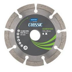 Disco De Corte Diamantado Segmentado Classic 110 X 20mm Nort... - Santec