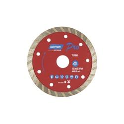 Disco De Corte Diamantado Turbo 110 X 22,2mm Norton - Santec