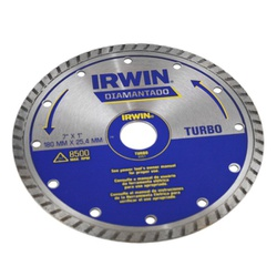 Disco De Corte Diamantado Turbo 180 X 25,40mm 8951Irwin - Santec