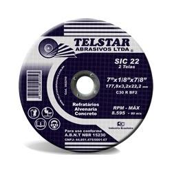 Disco De Desbaste 9'' Refratário - Santec