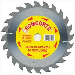 Disco De Serra Circular 250mm X 24dts 1492188 Bomcorte - Santec