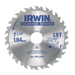 Disco De Serra Circular 7.1/4'' X 18dts Irwin - Santec