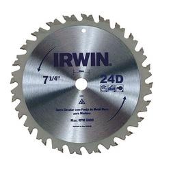 Disco De Serra Circular 7.1/4'' X 24dts Irwin - Santec