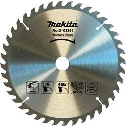 Disco De Serra Circular 7.1/4'' X 40dts Makita - Santec