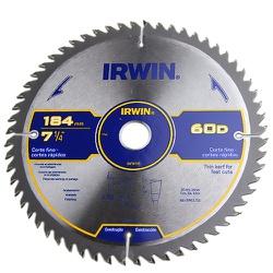 Disco De Serra Circular 7.1/4'' X 60dts Irwin - Santec
