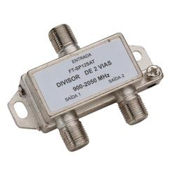Divisor De Antena C/2 Saídas Para Conector Coaxial - Santec