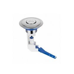 Botão Acionador Superior Cromado para Caixa Acoplada 340213 ... - Santec