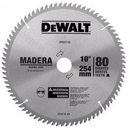 Disco De Serra Esquadria 10'' X 80dts DwI03130 Dewalt - Santec