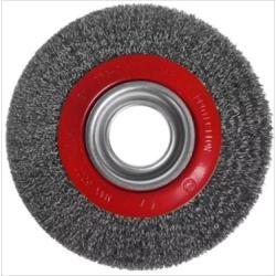 Escova De Aço Circular 6 x 1'' 6602 - Santec