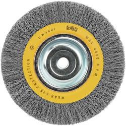Escova De Aço Circular De Aço Carbono 8 X 1 Pol Dw4907 - Santec