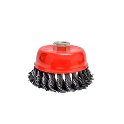 Escova De Aço Copo Trançada 64mm 4333 Lotus - Santec