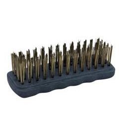 Escova De Aço Manual Cepa De Plástico 40710 - Santec