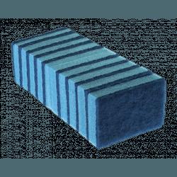 Esponja Azul Para Teflon 94818 Superpro - 10 Unidades - Santec
