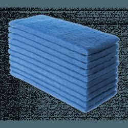 Fibra De Limpeza Azul 10,1 X 26cm Superpro 9509 - 10 Unidade - Santec
