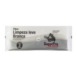 Fibra De Limpeza Branca Leve 10,1 X 26cm Superpro 9504/3 - 3... - Santec