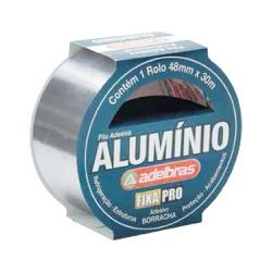 Fita Adesiva De Alumínio 48mm X 30mt Ref-807 - Santec