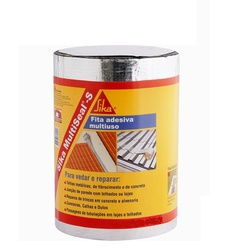 Fita Aluminizada Sika Multiseal 15cm X 10Mts Sika - Santec