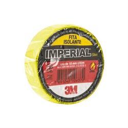 Fita Isolante Amarela 18mm X 10mts Imperial - Santec