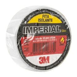 Fita Isolante Branca 18mm X 10mts Imperial - Santec