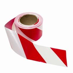 Fita Zebrada Vermelha E Branca C/ 200mts - Santec