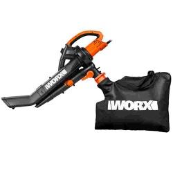 Soprador Aspirador e Triturador de Folhas WG505E Worx 220V - Santec