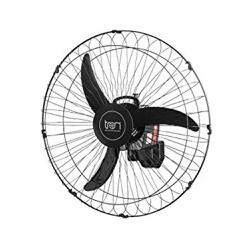 Ventilador de Parede 60cm Preto Bivolt Tron - Santec