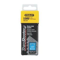 Grampo Para Grampeador 6mm C/ 1000 Unidades Stanley - Santec