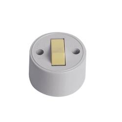 Interruptor Externo 1 Tecla Simples Redondo 1755 - Santec