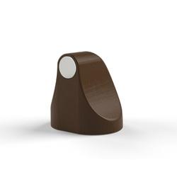 Fixador Magnético Marrom Escuro para Porta Comfort Door - Santec