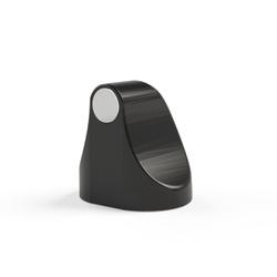 Fixador Magnético Preto Brilhante para Porta Comfort Door - Santec