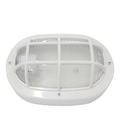 Luminária Tartaruga Plástica Branca 16110 Ilumi - Santec
