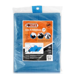 Lona Polietileno Azul 7 X 5 Metros Foxlux - Santec