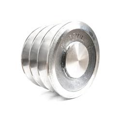 Polia de Alumínio 110mm com 3 Canais B - Mademil - Santec