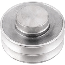 Polia de Alumínio 120mm com 2 Canais B - Mademil - Santec